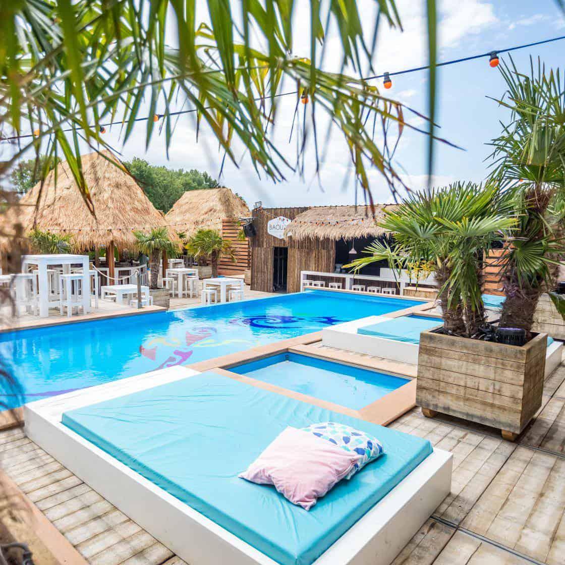 Beachclub Baouzza - Zwembad - Marketing voor evenementen