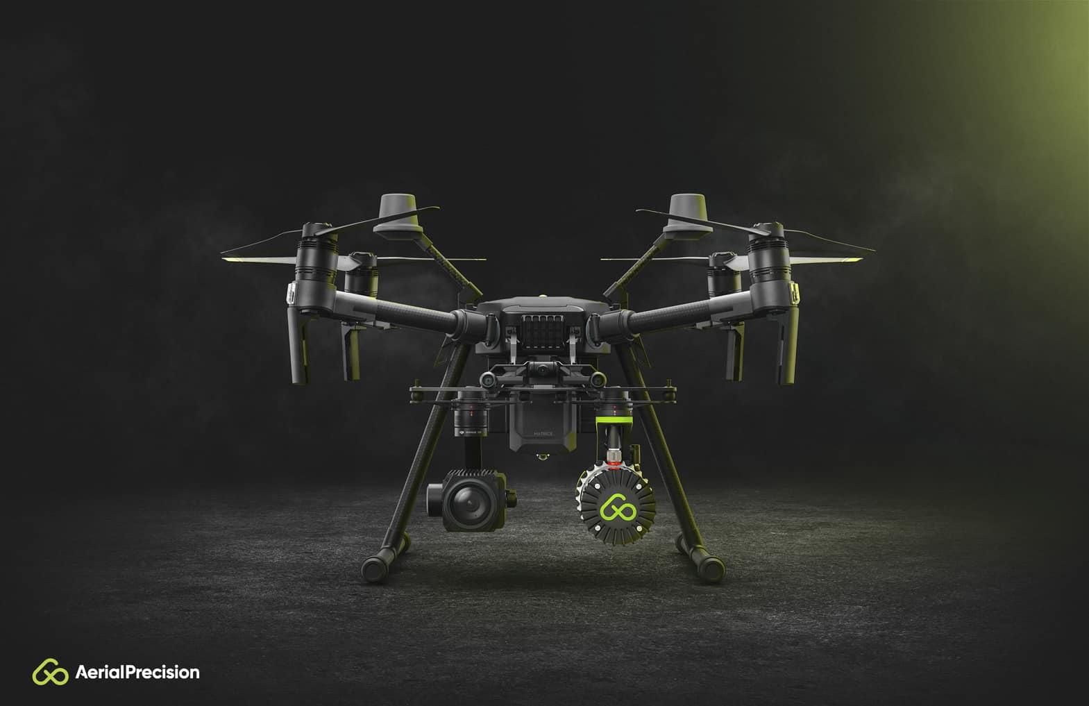 Aerial Precision - Drone - Tech Marketing